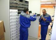 Colonnes tiroirs pour pharmacies