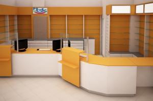 Ερμάρια Έπιπλα Φαρμακείων, Професионални фармацевтични шкафове, ICAS