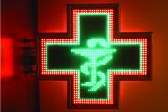 Светещи кръстове за аптеки